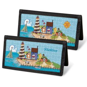 Lighthouse by Jim Shore Personal Checkbook Covers