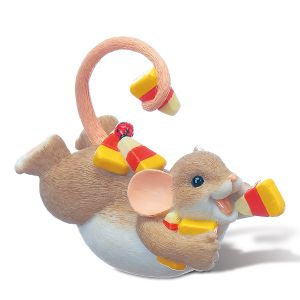 Candy Corn Mouse on Belly by Charming Tails®