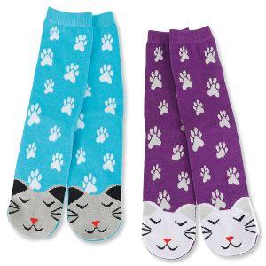 Cat Face Socks