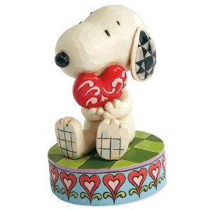 Snoopy™ with Heart Figurine by Jim Shore