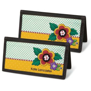 Mary's Classic Breits Personal Checkbook Covers