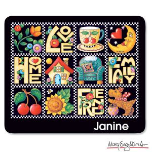 Love, Home… Personalized Mousepad