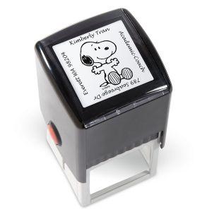 PEANUTS® Square Address Stamp