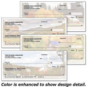 Rustic America Personal Checks