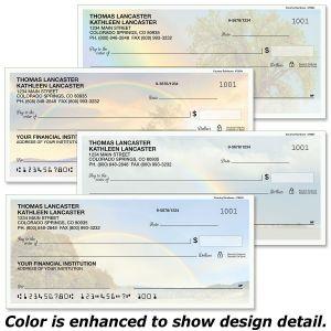 Country Rainbows Personal Checks