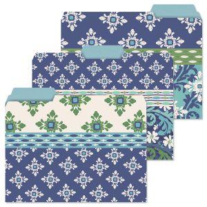 Cool Serenity File Folders (3 Designs)
