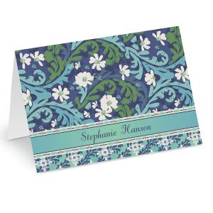 Cool Serenity Custom Note Cards