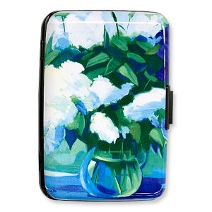 Bouquet of Lilacs RFID Wallet