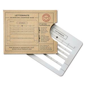 Lettermate Envelope Addressing Guide, 2nd Edition