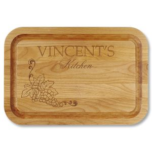 Vineyard Red Alder Custom Wood Cutting Board