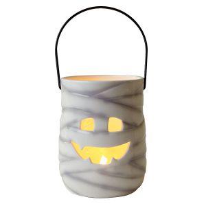Mummy Ceramic Halloween Lantern