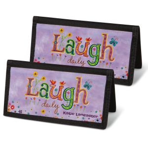Happy Thoughts Personal Checkbook Covers