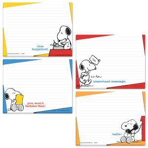 PEANUTS® Lined Jotter Pads