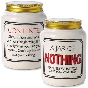 A Jar of Nothing