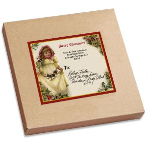 All Season Victorian Package Labels  (6 Designs)