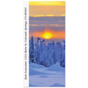 Alluring Sunscapes Oversized Address Labels  (10 Designs)