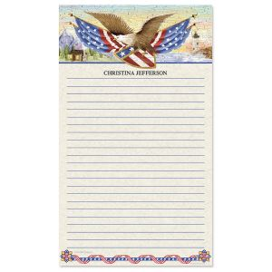 American Eagle Notepad