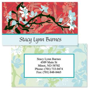 Asian Art  Double-Sided  Business Cards