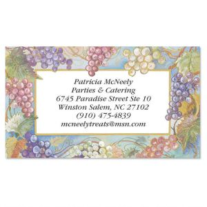 Bacchus Business Cards