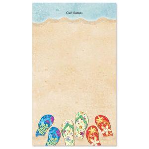 Baja Flip-Flops Notepad