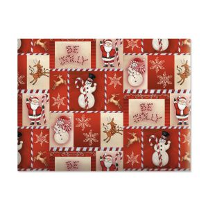 Be Jolly Holiday Jumbo Rolled Gift Wrap