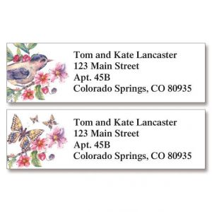 Blooming Branch Classic Address Labels  (2 Designs)
