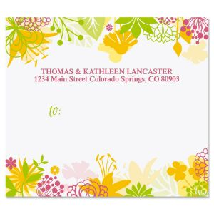 Botanical Brights Package Labels