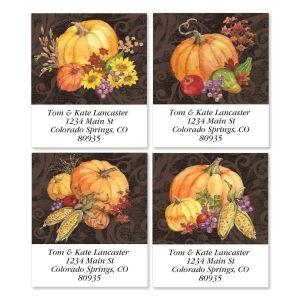 Bountiful Harvest Select Address Labels  (4 Designs)