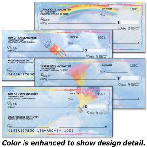 Bright Skies Personal Checks