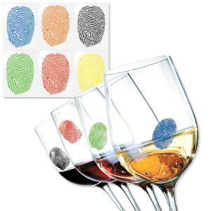 Fingerprint Drink Markers