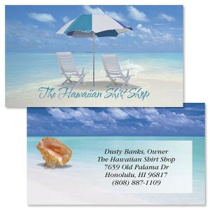 Calm Seas Double-Sided Business Cards