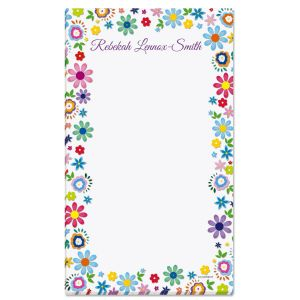 Cheerful Florals Notepad