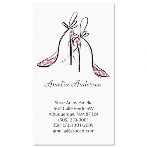 Divine Shoes Business Cards