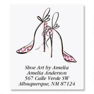 Divine Shoes Select Address Labels