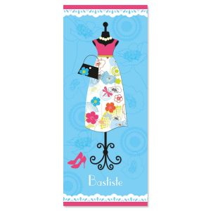Dress Up  Personalized Slimline Note Cards