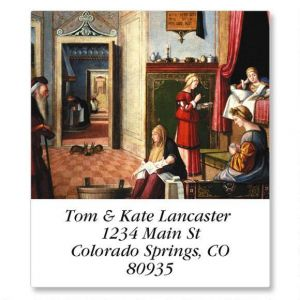 European Portraits Select Address Labels  (12 Designs)