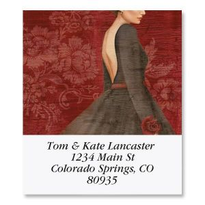 Evening Out Select Address Labels  (6 Designs)