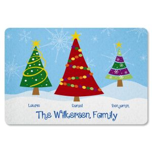 Family Trees Personalized Doormat
