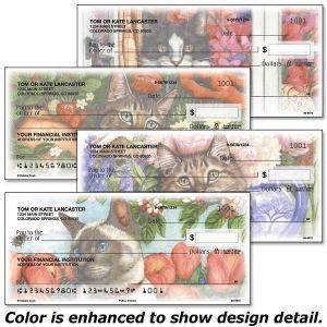 Feline Artistry Personal Checks