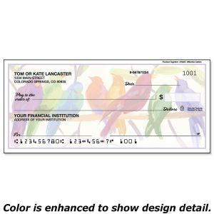 Flocked Together Personal Checks
