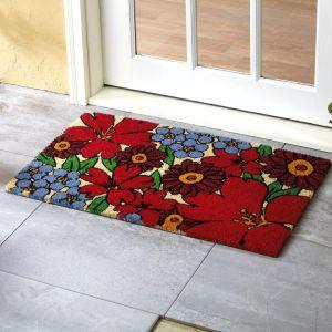 Forget-Me-Not Coir Doormat