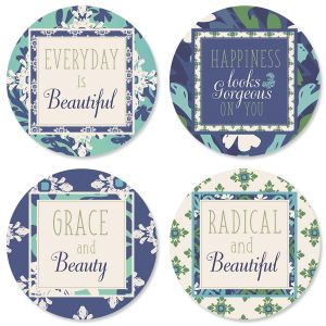 Cool Serenity Envelope Seals (4 Designs)