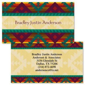 Geronimo Double-Sided Business Cards