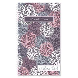 Gray Burst Personalized Lifetime Address Book