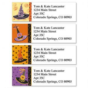 Halloween Hats Classic Address Labels  (4 Designs)