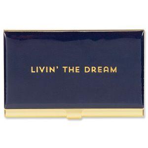 Livin' The Dream Business Card Holder
