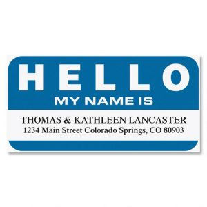 Hello My Name Is? Name Tag