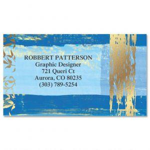 Impressions  Foil Business Cards