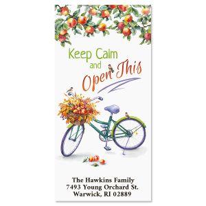 Keep Calm Oversized Return Address Labels