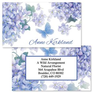 Lavender Beauty Double-Sided Business Cards
